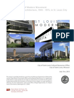 City of St. Louis Mid-Century Modern Architecture Survey