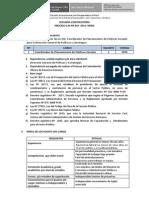Cas Nº 019- 2014 Segunda Convocatoria