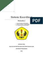 Sistem Koordinat Makalah