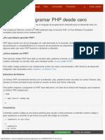 Aprender a Programar PHP Desde Cero - Betabeers