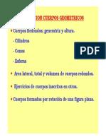 CUERPOS GEOMETRICOS N°2