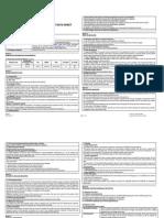 Ethylene Safety Data Sheet