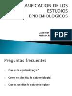 Clasificacion de Estudios Epidemiologicos