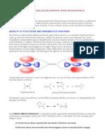 Electron Delocalization and Resonance