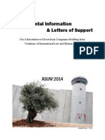 ASUW Booklet to Accompany Resolution R-20-39