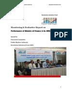 Monitoring Report on Finance, Yemen