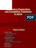 Foundation Treatment in Dams