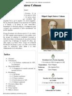 Miguel Ángel Juárez Celman - Wikipedia, La Enciclopedia Libre