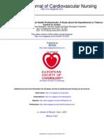 Eur J Cardiovasc Nurs 2011 Shishani 221 7