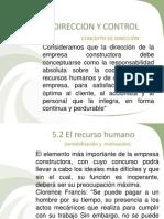 u v Construccion Direccion y Control_ej 2014