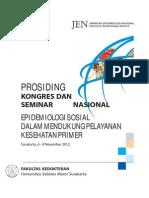 Prosiding Konas Jen 14 Surakarta 2012