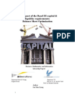 The Impact of the Basel 3 Capital and Liquidity Requirements