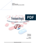 Trabajo Completo de Antihemorrágicos y Antigoagulantes (Farmacologia)