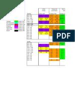 PSG Schedule