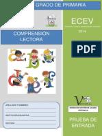 PRUEBA 1° ENTRADA 2014 COMUNICACION