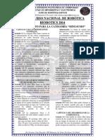 Reglamento Categoria Minisumo Riobotics 2014