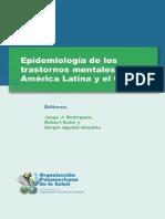 Epidemiologia de Los T. Mentales de LA