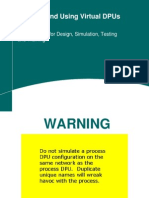 Creating and Using Virtual DPUs