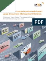 A comprehensive web-based Legal Document Management Solution