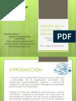 Gestión de La Calidad Del Proyecto-fp