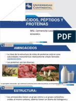 Semana 3_aminoacidos, Peptidos y Proteínas