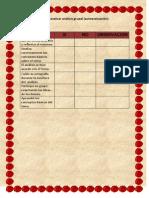 lista de cotejo 2