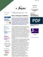 Ética e Orientação Acadêmica - Nildo Viana