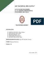 Informe de Transformador