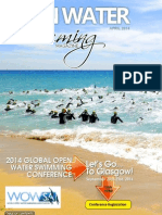 Open Water Swimming Magazine - Sample Issue - Featuring 2014 Global Open Water Swimming Conference in Glasgow, Scotland
