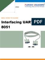 UART Interfacing With 8051 Primer