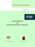 Management of Dengue Fever in Children