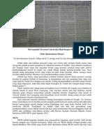 Mewaspadai Tawaran Umroh dan Haji Dengan MLM (Jawa Pos Radar Jember, 2 Mei 2014, Hlm. 36)