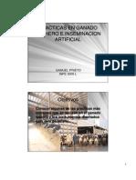 Prácticas en ganado lechero e inseminación