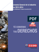 CC.oo XVII Convenio General de La Industria Quimica
