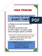 MAGIC TABLES