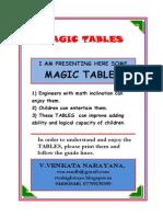 MAGIC TABLES