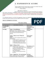 Cal Portfolio Outline