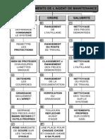 11 - Les 5S - Commandements de l'Agent de Maintenance