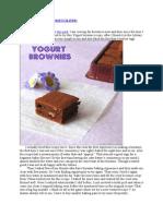 Yogurt Brownies