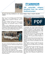 Improving nutrition and living standards for refugees in Eritrea