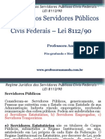 Regime Jurídico Dos Servidores Públicos Civis Federais – Power Point
