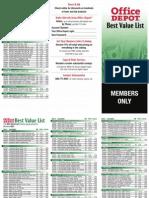 Best Value List