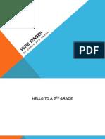 verb tenses presentation pdf