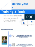Strategy Definition Training & Templates