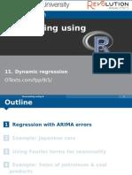 11 Dynamic Regression