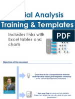 Financial Analysis Training