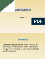 Lecture 20 Vibration
