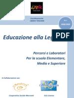 Pacchetto scuola- Educazione alla Legalità - Libera Toscana