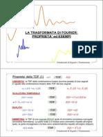 Trasformata Di Fourier Proprieta Ed Esempi
