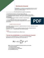 Distribución Binomial (Imformacion)
